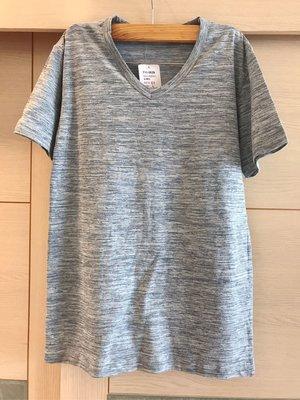 COMBINATION 雲彩V領素短T恤(女)全新品