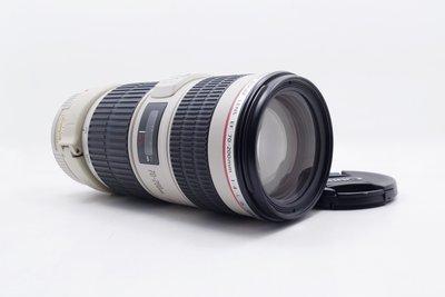 【台中青蘋果】Canon EF 70-200mm f4 L IS USM UE鏡 二手 鏡頭 #62635