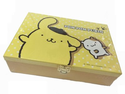 GIFT41 土城店 Pom Pom Purin 布丁狗 珠寶 收納盒 PN-0050