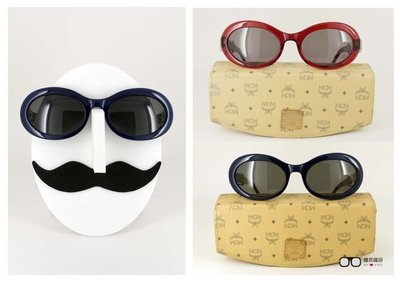 【My Eyes 瞳言瞳語】MCM米高梅復古圓框太陽眼鏡 歐式風格