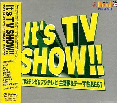 (日版全新未拆) It s TV SHOW!! - 2CD - ZARD,TUBE,B z,岸本早未 .....