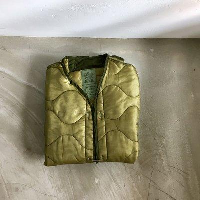 美軍公發 M65 Jacket liner jacket 衍縫外套 M65大衣內膽 內裡外套 美國製 古著 vintage