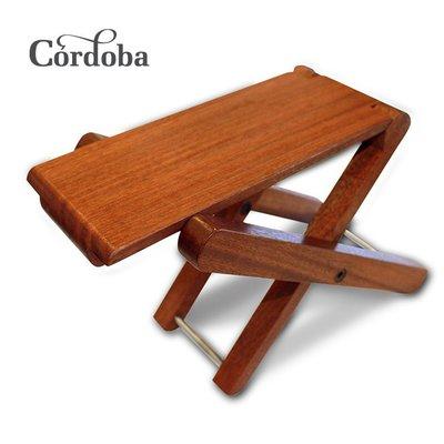 美國 Cordoba Foot Stool 頂級原木製 全實木 古典吉他踏板 古典吉他腳踏板 CFS-04028 高雄市