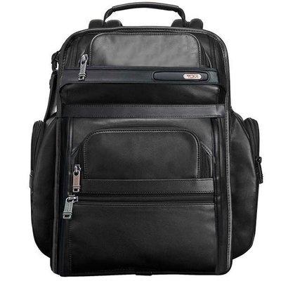 皮藏客 男人館 TUMI/途米 代購 JK024 男女款納帕牛皮真皮商務旅行雙肩包超大容量獨立筆記型電腦包時尚後背包