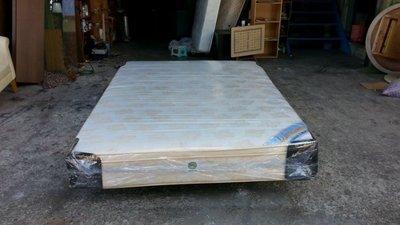 【安鑫】~5尺標準雙人【5X6.2尺】三線獨立筒床墊 彈簧床墊~回收二手家具!【A290】