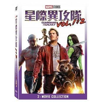 『光碟超市』電影  星際異攻隊 1+2 合集 DVD 全新正版-起標價=結標價