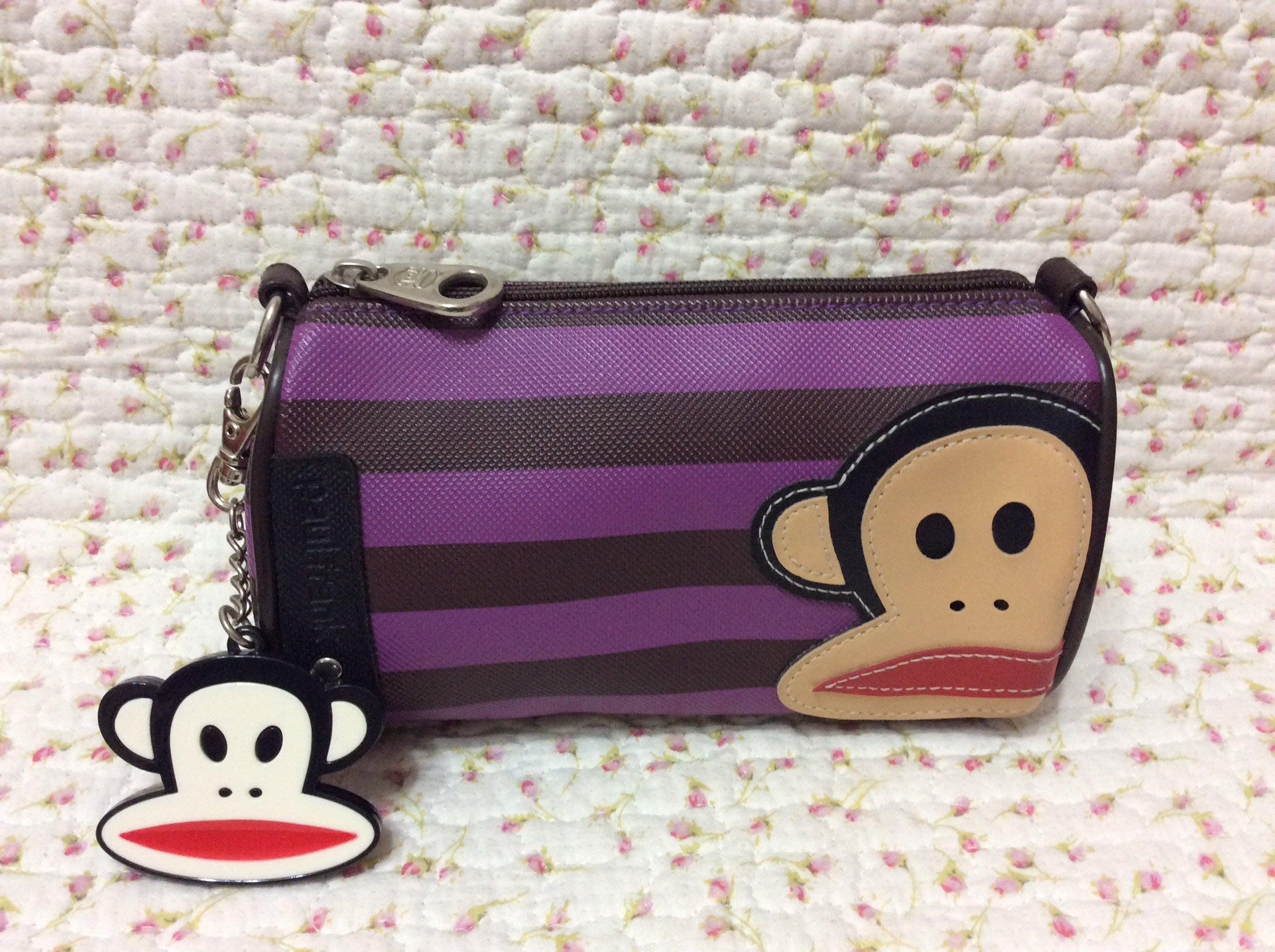 Paul frank 大嘴猴化妝包/收納包《紫色》原價980特價500