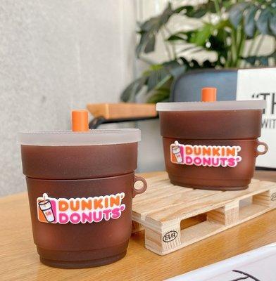 DUNKIN DONUTS 甜甜圈飲料杯 AIRPODS Airoods pro 保護套 1代 2代 通用款 3代 新北市
