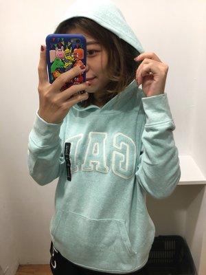 【蟹老闆】GAP 女帽T 淺綠色 馬卡龍色系