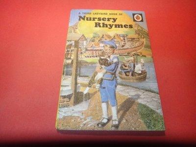 【愛悅二手書坊 O-03】A Third Book of Nursery Rhymes   EARLY LEARNING