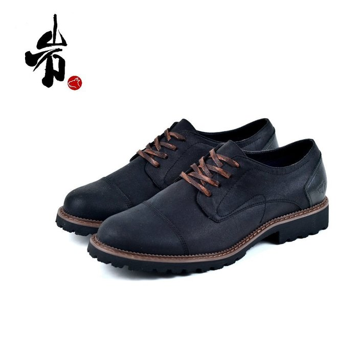 【DOGYBALL】 都會學院系 復古暖男春夏德比鞋款 皮感透氣柔軟鞋面加厚軟Q大底台灣製運動網布鞋墊 免運