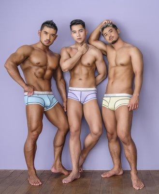 [性感裸比] GX3 Ultra-Skin立體縫線平口褲三件組1100元(全館滿千現折100元)K1241 現貨