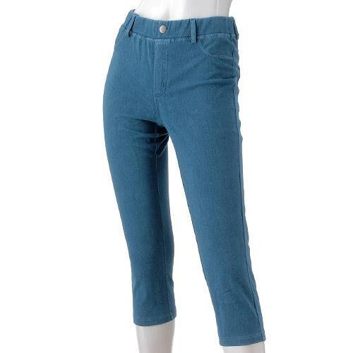 婕的店日本精品~日本帶回~GUNZE郡是冷感七分褲牛仔褲內搭褲(M~LL)