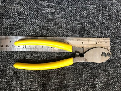 全新「日本貝印SHELL」開線鉗 剪線鉗electricity cable line opener plier ST606 made in Japan原$200