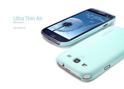 出清 SGP Samsung Galaxy S3 Ultra Thin Air 硬式 超薄 保護殼 『青蘋果』手機殼