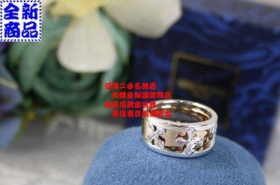 優買二手精品名牌店 日本專櫃 正品 MIKIMOTO 18K K金 白K金 玫瑰金 雙圈 十字架 對戒 墬子 全新