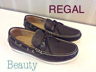 *Beauty*手工 REGAL 男士皮鞋 經典款 真皮 牛皮764R 27號 (咖啡色)