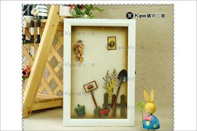 KIPO-法式鄉村 田野時光立體裝飾畫 鑰匙櫃盒/鑰匙櫃/鑰匙盒/鑰匙箱/NCA011001A