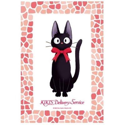 JP購✿15051700038 日本製迷你拼圖150P JIJIJ坐姿紅邊 宮崎駿 魔女宅急便 黑貓 奇奇貓 拼圖 桌遊
