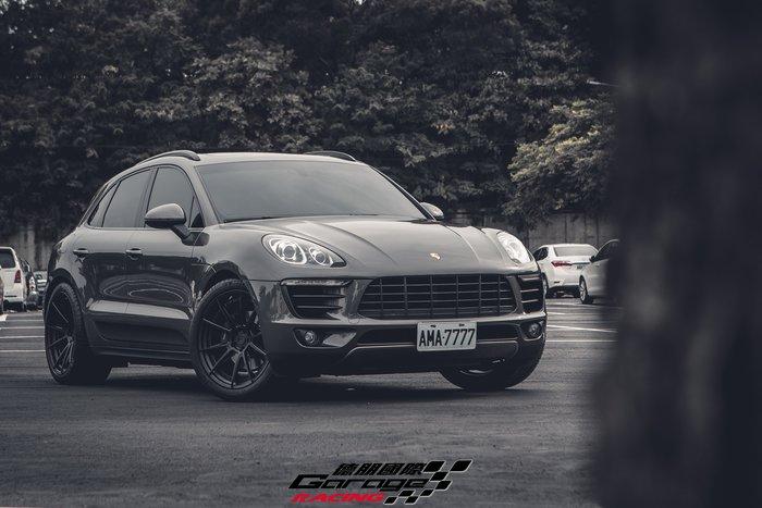 德朋國際 /  BC HCS04S 雙片鍛造客制鋁圈 Porsche Macan 實裝