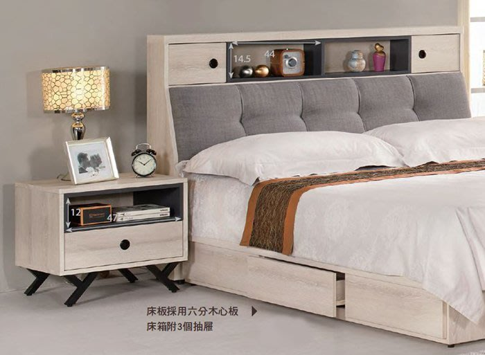 【DH】商品貨號G589-8商品名稱《娜優》五呎抽屜式床底(圖一)備有胡桃色/3.5尺/6尺。台灣製可訂做。主要地區免運費