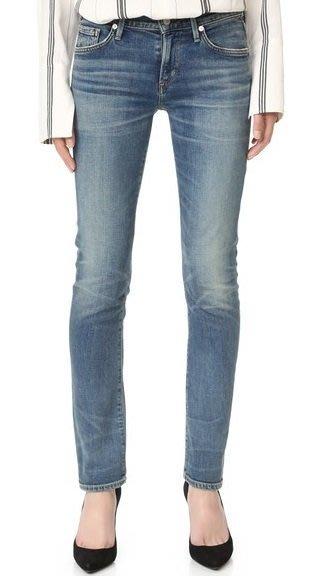 ◎美國代買◎Citizens of Humanity Arielle Mid Rise Slim 刷色合身顯廋直筒牛仔褲