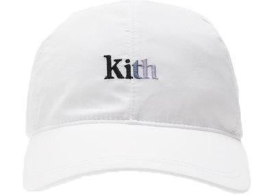 【紐約范特西】預購 Kith Elastic 6-Panel Cap White 六分帽