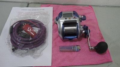 SHIMANO 高速型電動捲線器 電動丸 3000h,速度195,瞬間最大27公斤-6