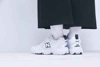 南◇2019 9月 NEW BALANCE 復古 WX608WT 透氣 男女 全白色 老爹鞋 老爸鞋 韓國限定 608