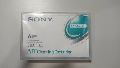 Sony AIT Cleaning Tape - SDX1-CL  清潔膠帶 全新庫存品
