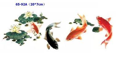 小妮子的家@手繪系列水移畫/古典玫瑰轉印貼紙/家具貼65-92A