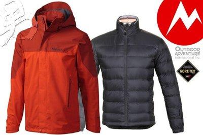 【Marmot】『零碼出清』美國 男 Palisades GORE-TEX 可拆式兩件式風雨衣 內層700