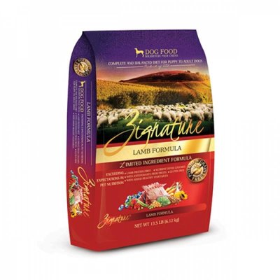 Zignature 無穀物頂級(羊肉)全犬種配方 (Lamb Formula) 13.5磅 - 狗餅物語