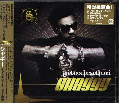 K - Shaggy - Intoxication - 日版 +2BONUS - NEW