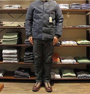 |The Dood Life|日本藍染老牌SUGAR CANE 復刻美國40's / 11盎司 復古藍染 牛仔羽絨外套