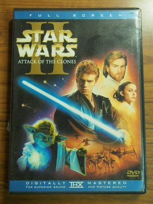 MWM◎【二手DVD】Star Wars- Attack Of The Clones 星際大戰二部曲