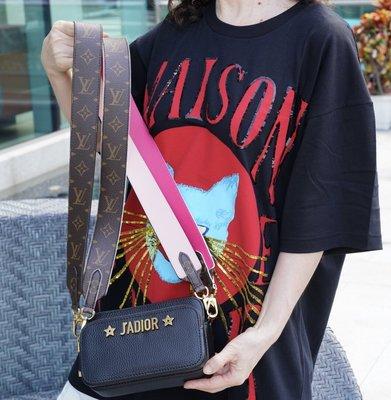 Louis Vuitton J02330 Shoulder Strap 肩背帶 老花 / 粉紅 老花/桃紅 現貨