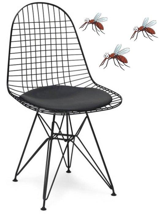 【 一張椅子 】 工業復古風 蚊拍椅 Charles & Ray Eames Wire Chair DKR 復刻版