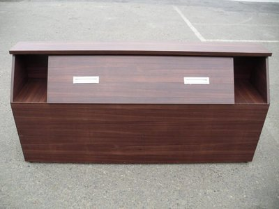 大台南冠均二手貨民安店--全新 工廠直營 木心板 5尺 床頭櫃 床頭箱 床櫃 床頭板*家具/家電