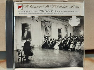 Casuals,Concert At The White House,Early Recordings卡薩爾斯,白宮音樂會及早期錄音,共2張專輯,2片CD,如新