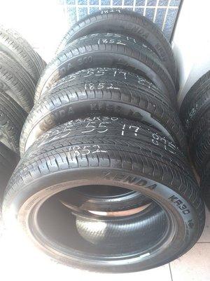 225 55 R 17 建大 KR30 18年52週製造 9成新 落地胎 二手 中古 輪 胎 一輪2000元