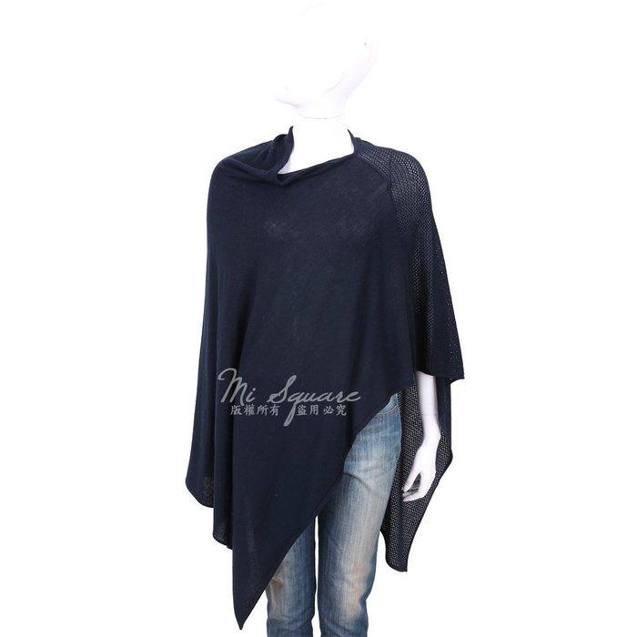 米蘭廣場 ALLUDE 喀什米爾深藍色羊毛罩衫 1740234-34