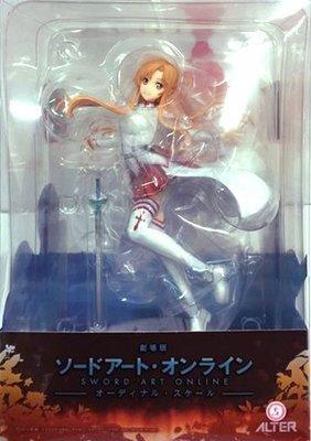 日本正版 ALTER 劇場版 刀劍神域 亞絲娜 1/7 模型 公仔 日本代購