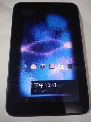 微星科技MSI Enjoy 71 雙核心平板電腦Wi-Fi版,除螢幕外圍有部分黑影,平板電腦其餘功能都正常,只賣550元