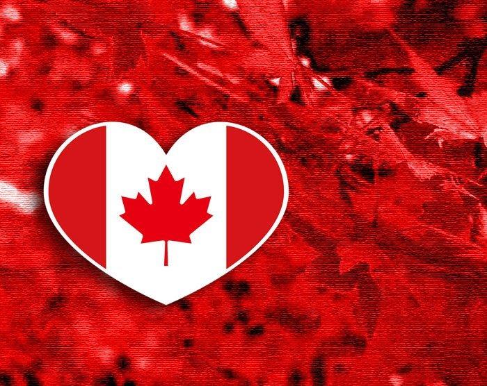 【國旗貼紙專賣店】加拿大愛心形旅行箱貼紙/抗UV防水/Canada/多國款可收集和客製