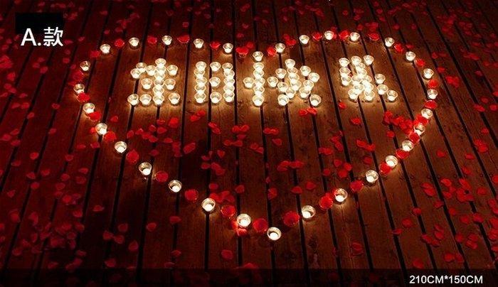 排字 蠟燭 HAPPY BDAY IOU 生日快樂 套餐 求婚蠟燭 情人節禮物 浪漫套餐 26號【P11002001】