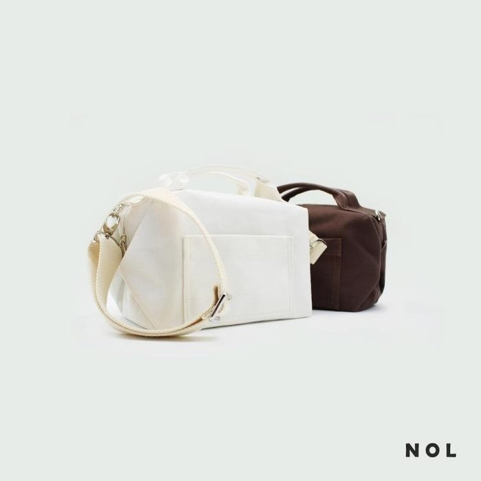 環保純棉帆布防水保溫內里便當袋午餐便當飯盒袋手提拎包