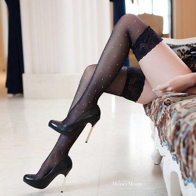 【M-11】日系水玉點點雙色大腿襪☆HoneyMoon蜜月假期