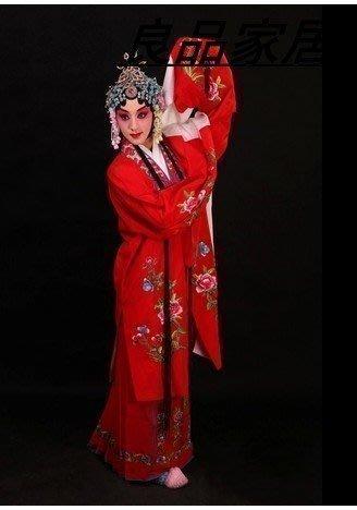 【優上精品】帶頭飾 正龍京越劇戲服戲曲戲劇 舞蹈 演出民族服裝A 花旦小姐女(Z-P3121)