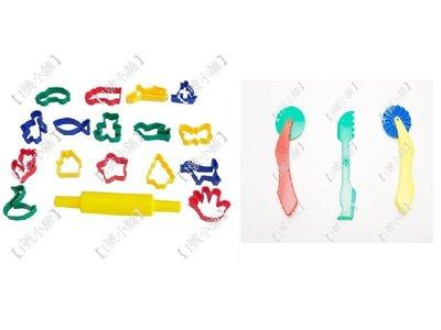 ~1號小舖~教具  玩具  教材  工具組  黏土工具組  黏土滾輪組  黏土模型組  黏土模型綜合12件